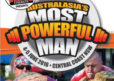 Australasia's Strongest Man Competition
